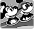 Mickey y minnie avión
