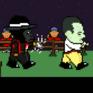 Peron y Evita contra Los Gorilas